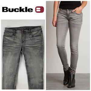 Buckle Black Skinny Jeans👖